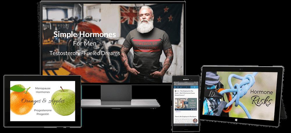 Video patient education for men