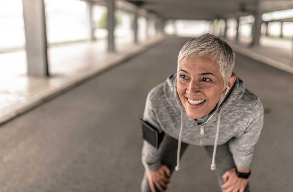 Athletic menopausal woman Albano Clinic