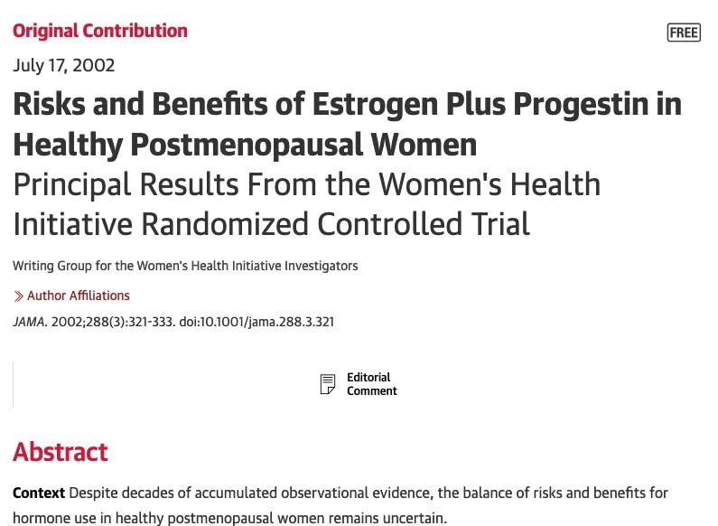 Womens Health Initiative Title