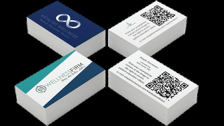 Simple Hormones QR Cards