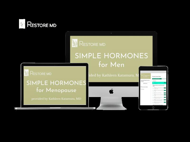 Kathleen Katamura MD Simple Hormones